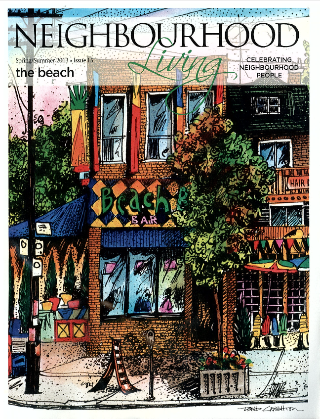 Neighbourhood Living Magazine - front